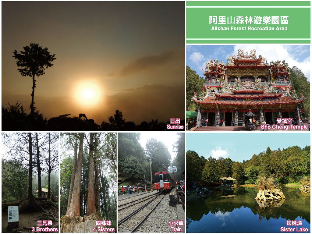 Alishan National Forest Recreation (阿里山国家森林游乐区)
