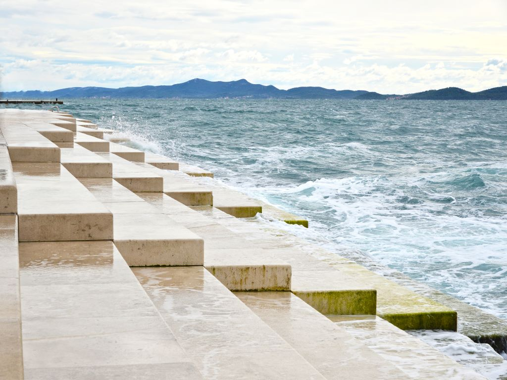Day 07-14  Sea Organ, Zadar (海风琴,扎达尔)