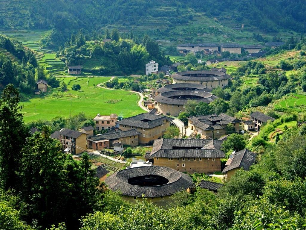 Fujian Tulou福建土楼