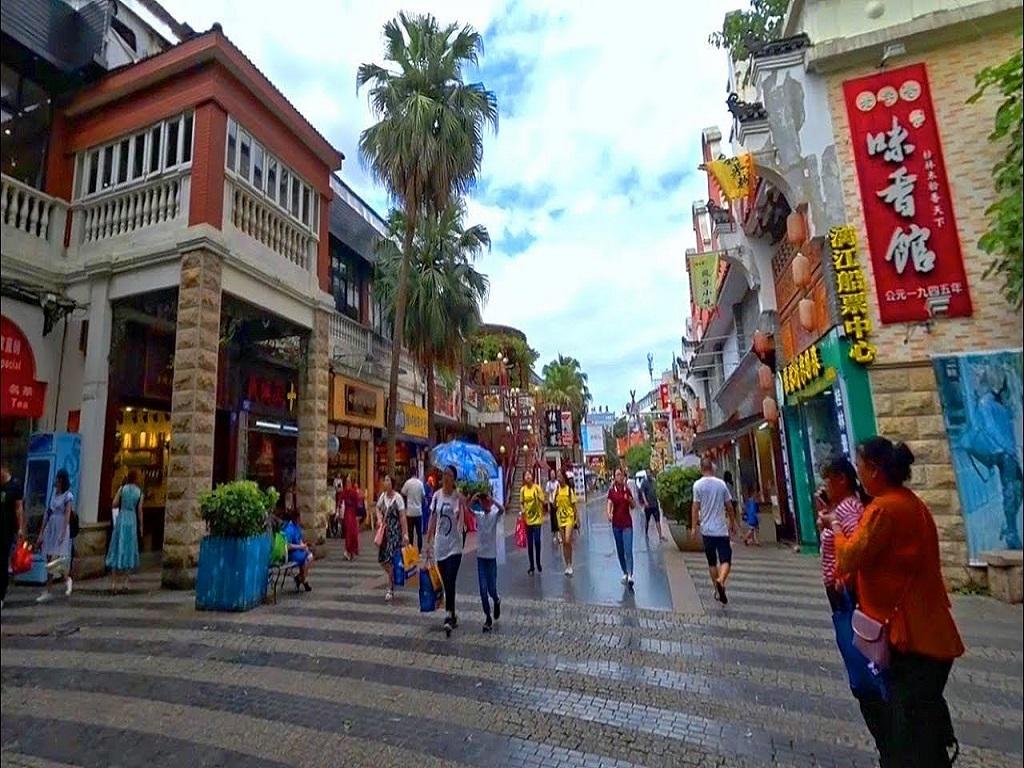 Zhengyang Pedestrian Street八桂步行街--正阳步行街