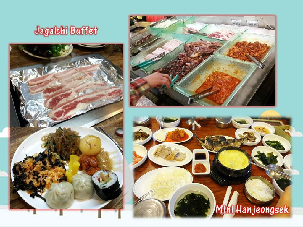 Lunch - Jagalchi Buffet (午餐 - 札嘎其自助餐)