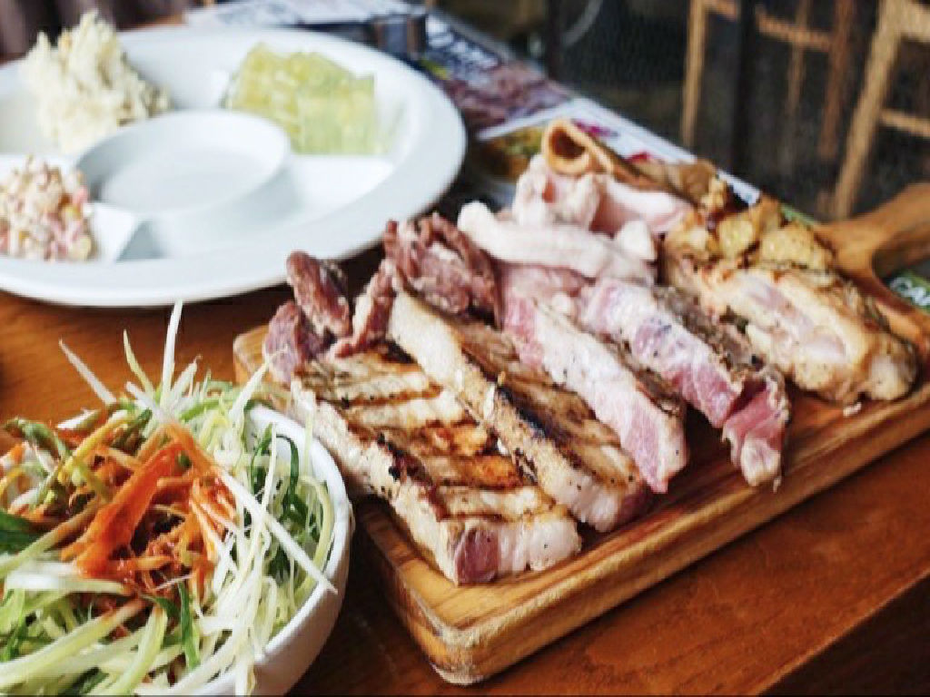 Dinner - Korean Pork BBQ (韩式烧烤)