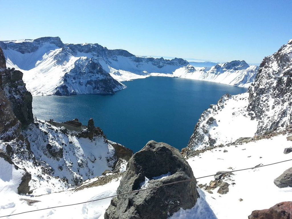 Mt Changbai in Winter冬季长白山