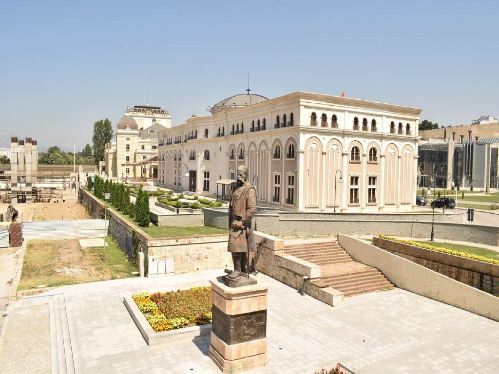 Day 06-05  Main Square, Skopje (中央广场,斯科普里)