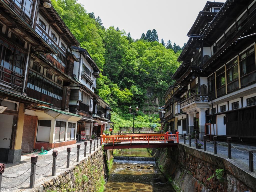 Ginzan Onsen Town / 銀山温泉鎮
