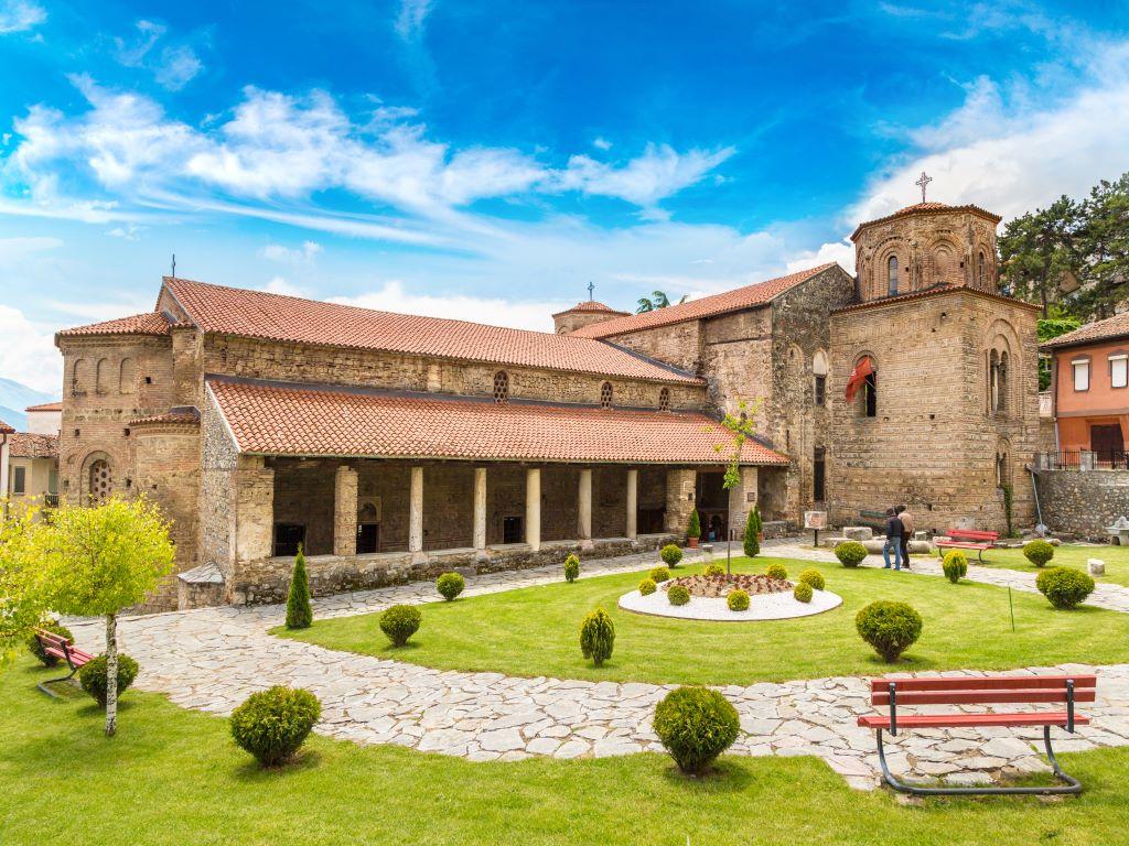 Day 07-07  St Sophia Church, Ohrid (圣索菲亚教堂,奥赫里德)