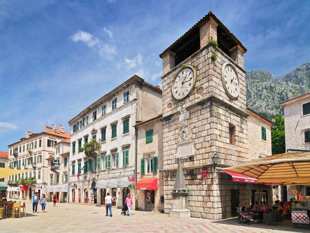 Day 05-03  Clock Tower inside Stari Grad, Kotor (老城,科托尔)