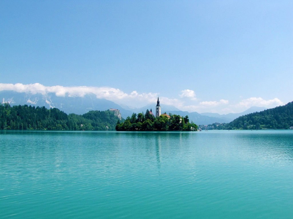 Day 09-01  Lake Bled (布雷德湖)