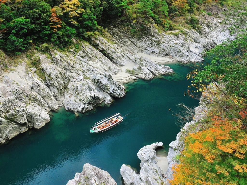 Oboke Cruise / 乘船游大步危/小步危峡谷