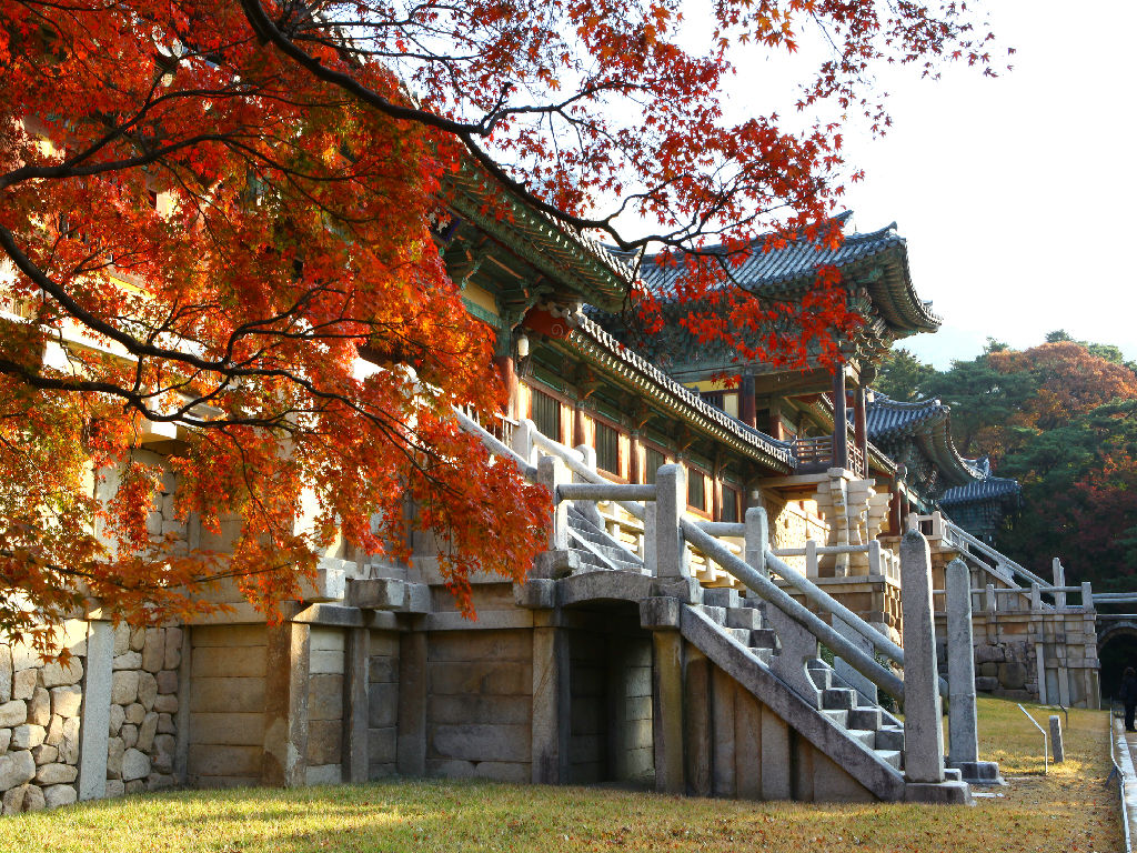 Bulguksa Temple (佛国寺)