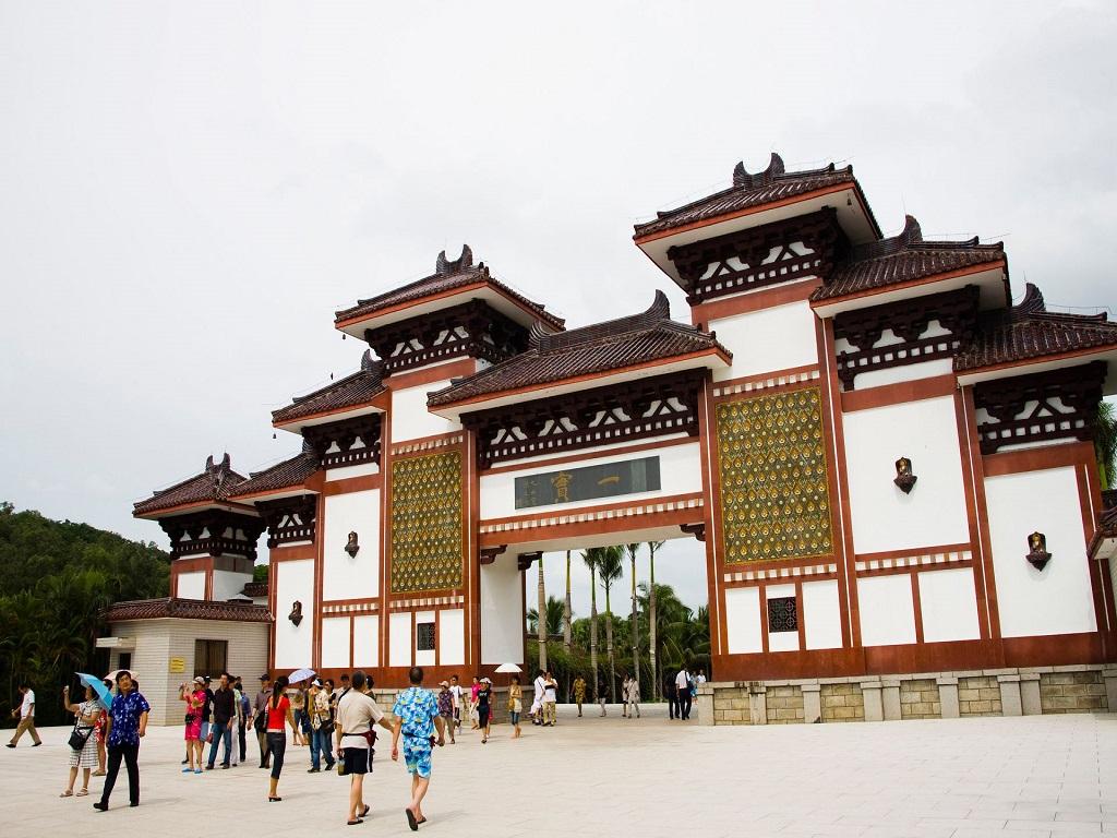 Nanshan Buddhist Cultural Garden 南山文化旅游区