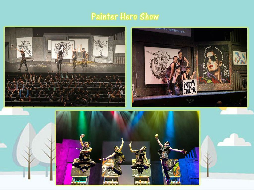 The Painters HERO Show (涂鸦秀《HERO》)
