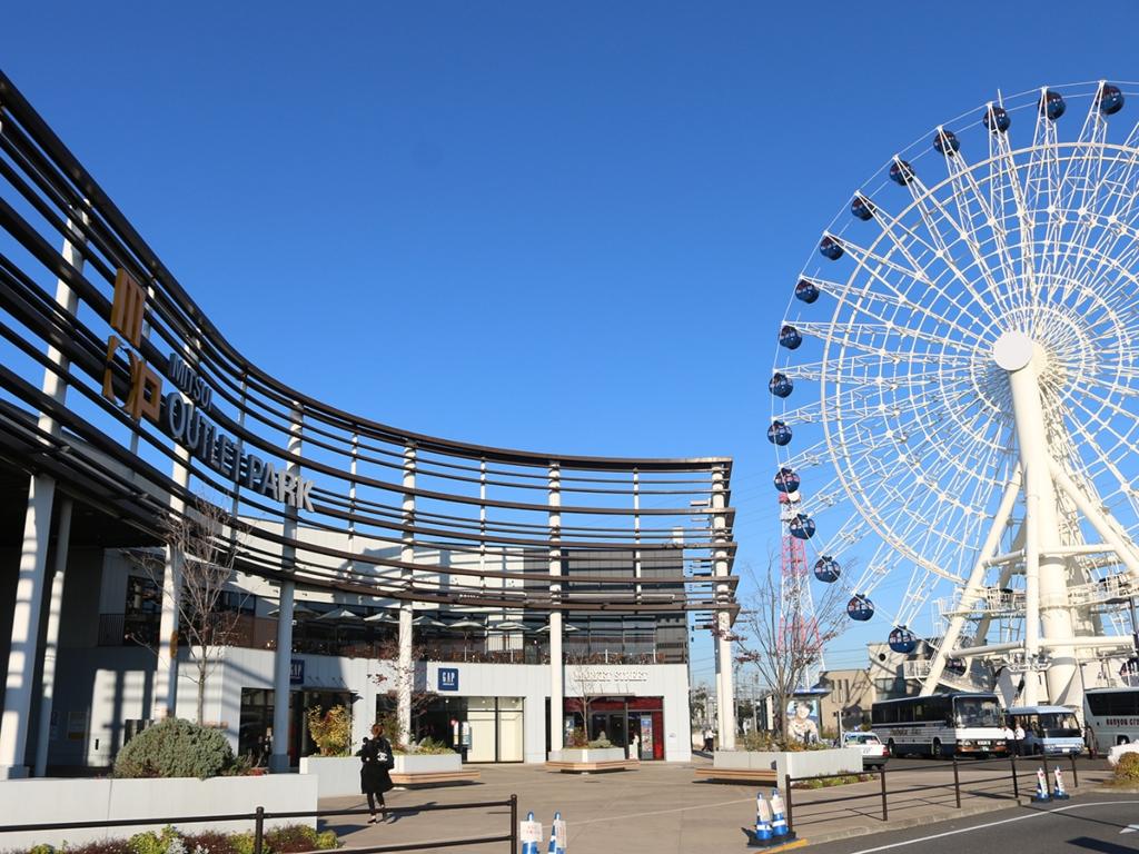 Sendai Mitsui Outlet Park / 三井工厂直销仙台