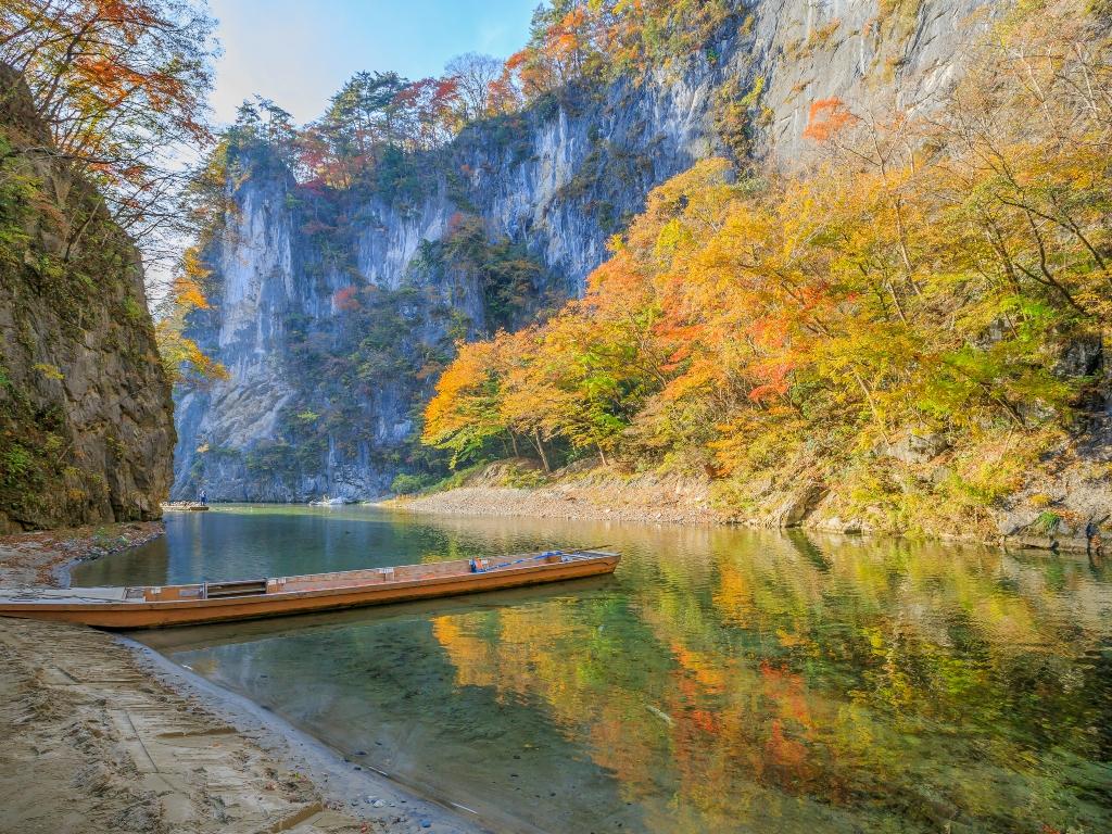 Geibikei Gorge / 猊鼻溪