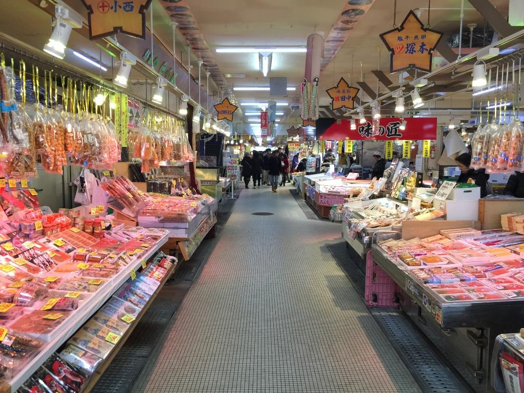 Hakodate Morning Market / 函馆朝市