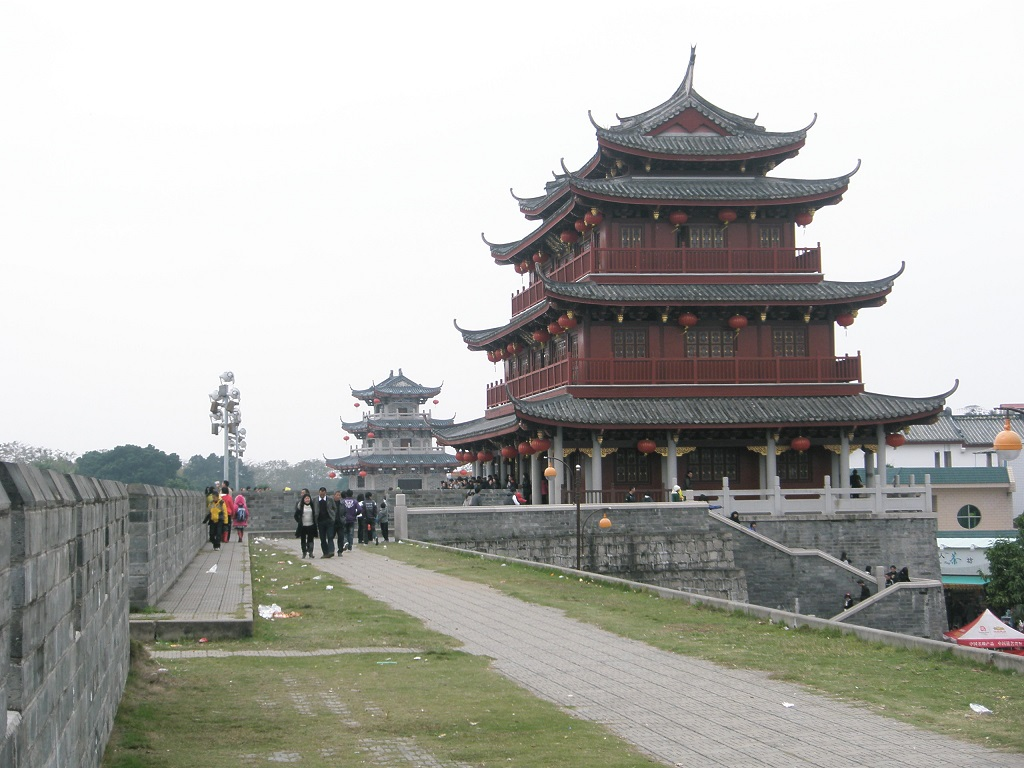 Guangji Gate Tower广济门城楼