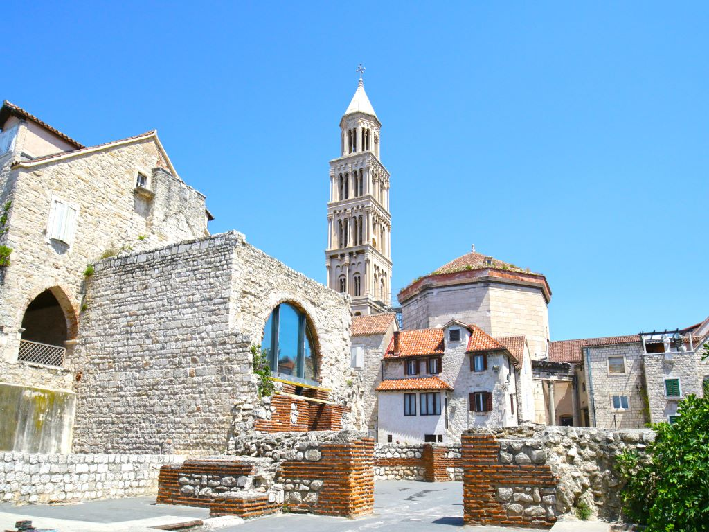 Day 07-04  Diocletian Palace, Split (戴克里先宫,斯普利特)