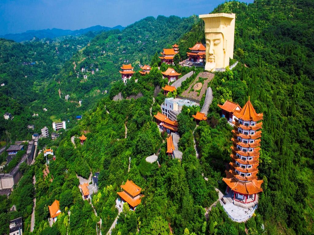 Fengdu Yuhuang Holy Land丰都玉皇圣地