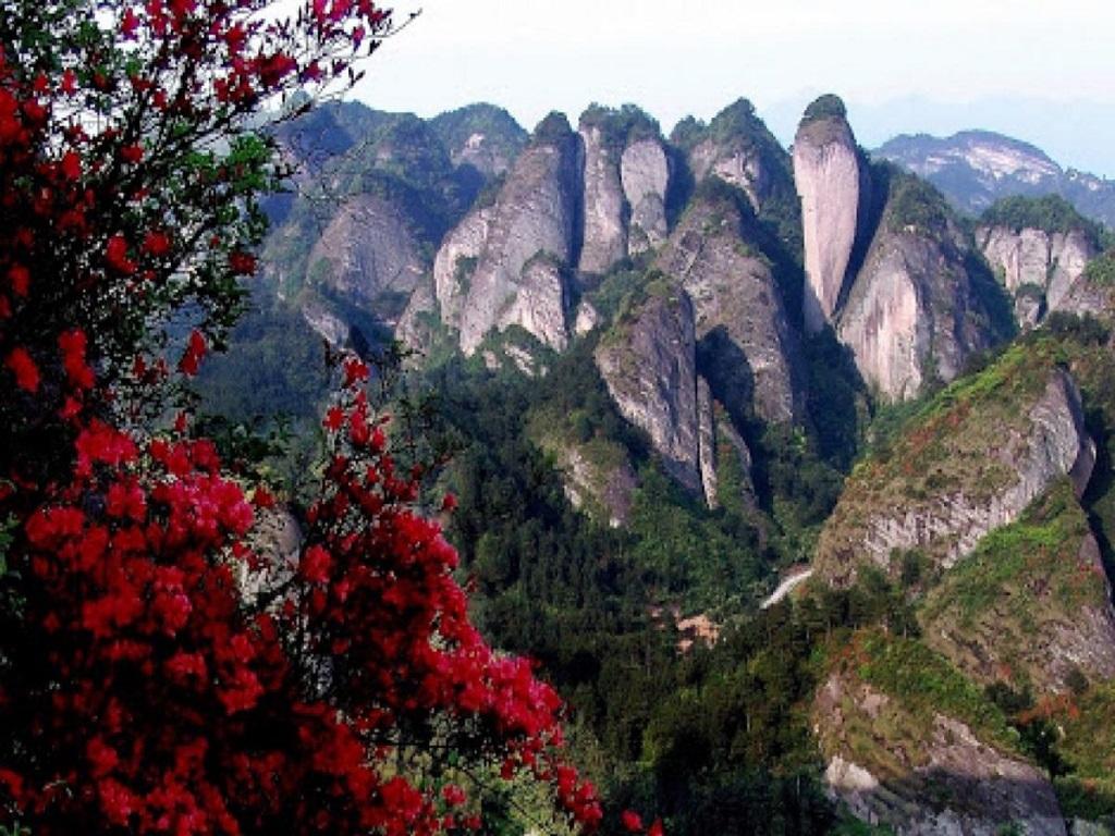 Liangshan Bajiao National Geological Park崀山八角寨地质公园