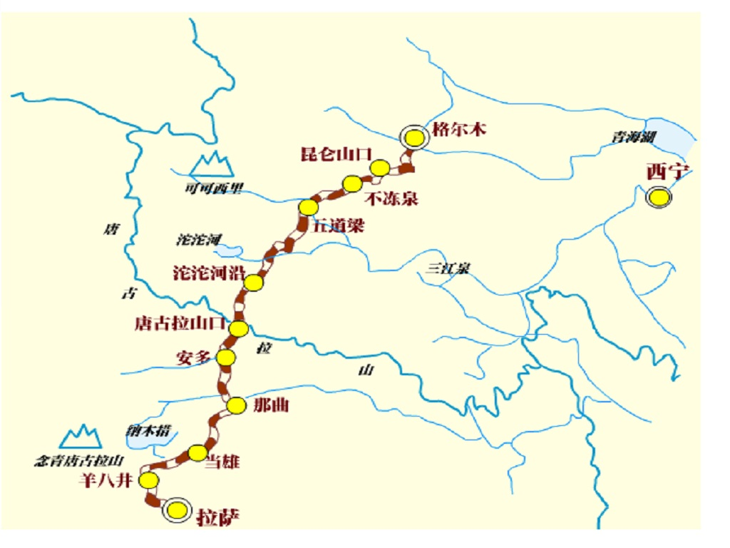 Train Rourte列车行驶线路