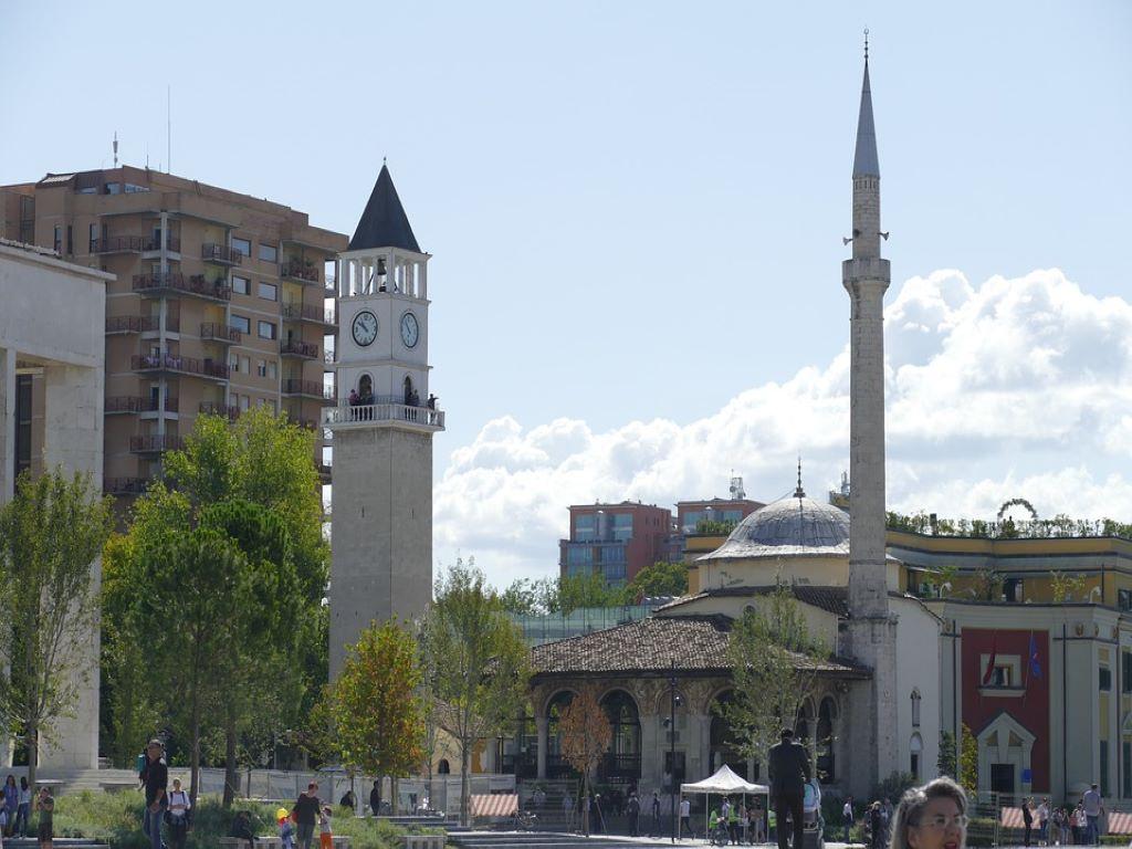 Day 08-05  Ethem Bey Mosque, Tirana (埃特姆贝清真寺,地拉那)