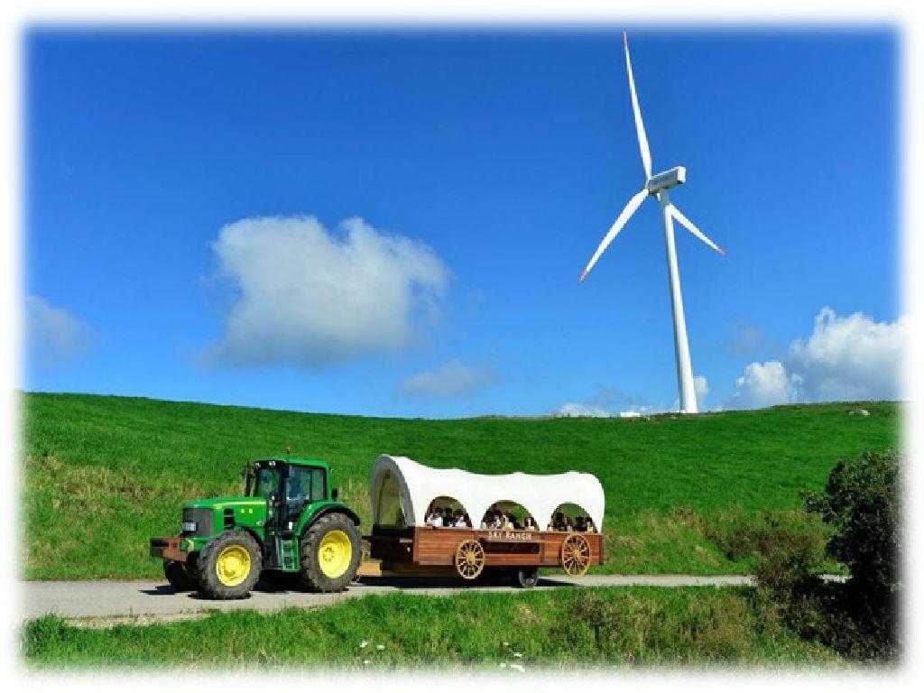 Daegwallyeong Sky Ranch - Tractor Ride (大关岭牧场 - 拖拉机)