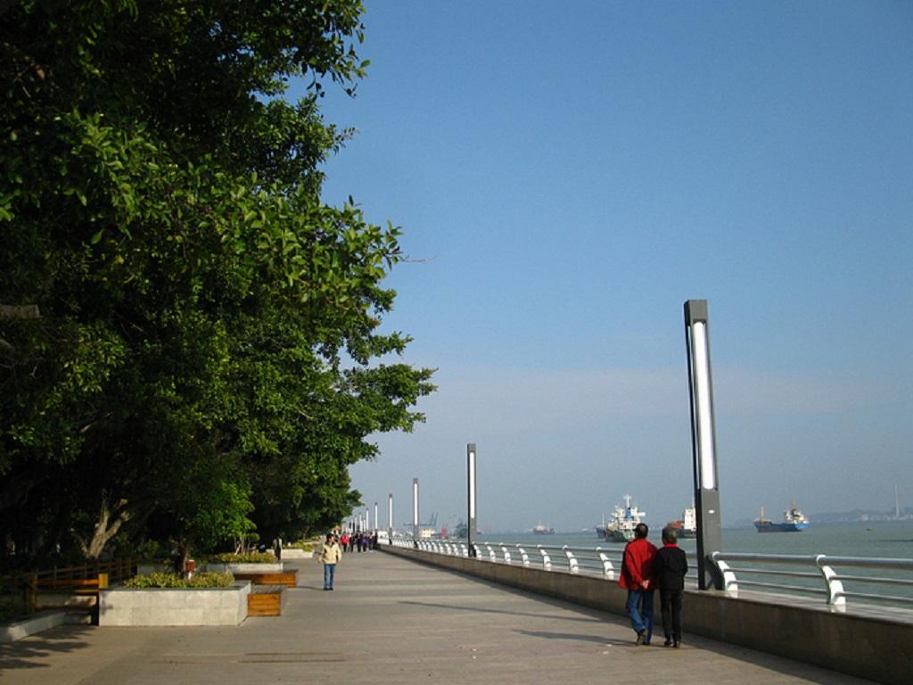 Shantou Haibin Park汕头海滨公园
