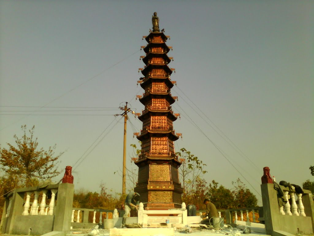Thousand Pagodas千佛塔