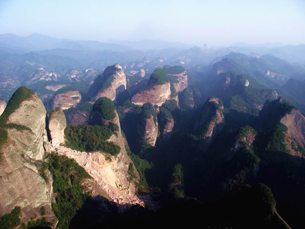 Liangshan Bajiao National Geological Park 崀山八角寨地质公园