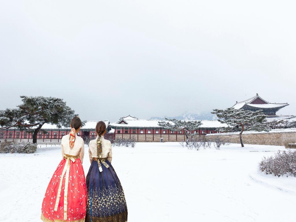 Gyeongbokgung Palace + Hanbok Experience (景福宫 + 传统韩服体验)