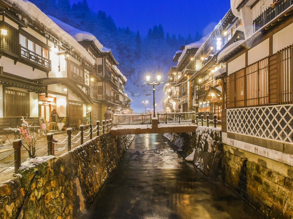 Ginzan Onsen / 銀山温泉鎮