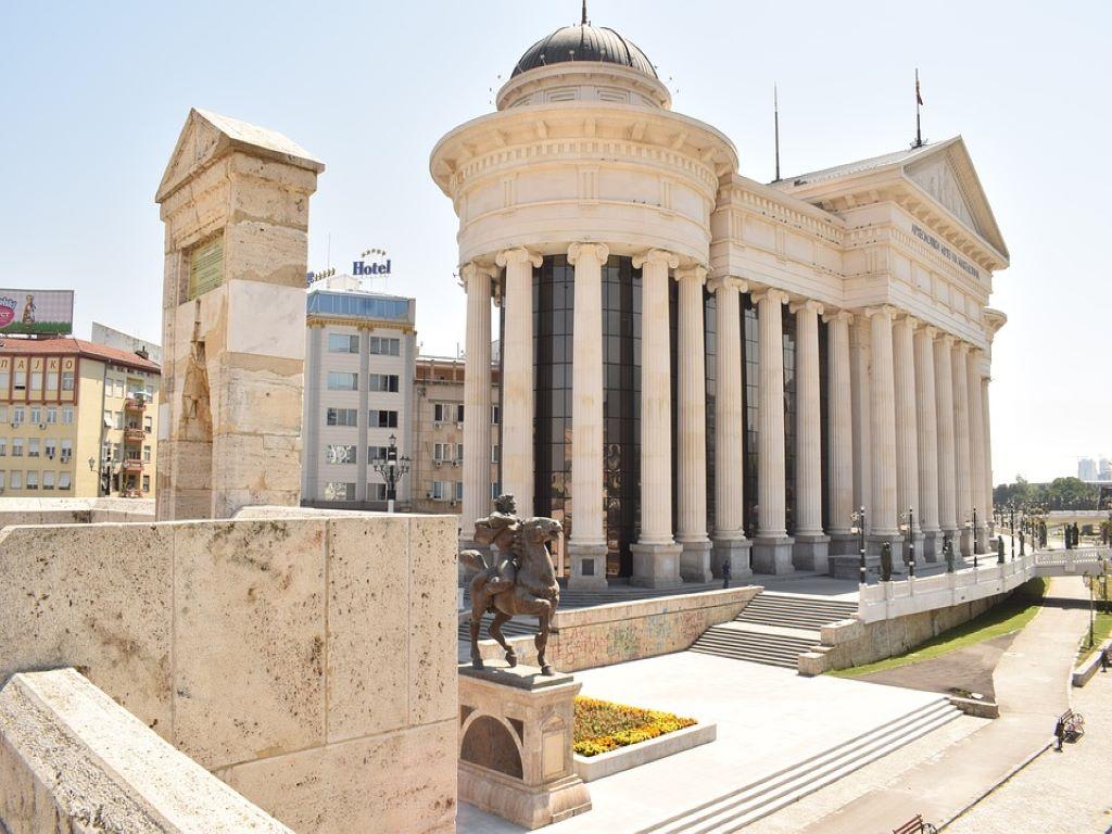 Day 06-06  Main Square, Skopje (中央广场,斯科普里)