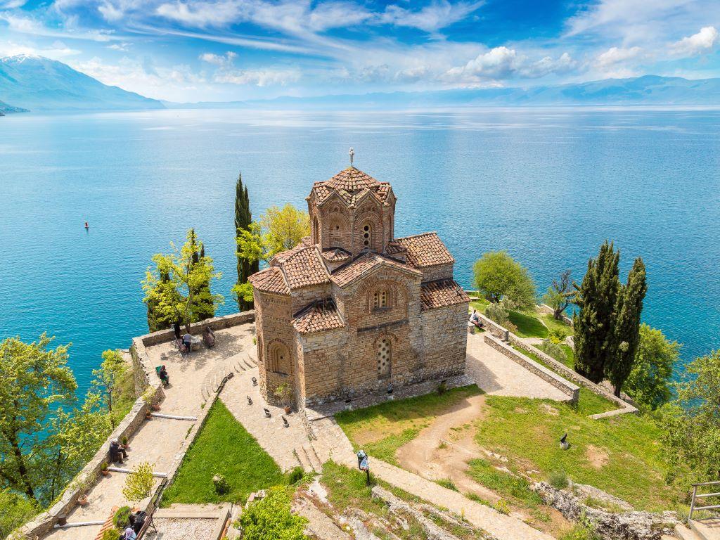 Day 07-02  St John Church, Lake Ohrid (圣约翰教堂,奥赫里德)