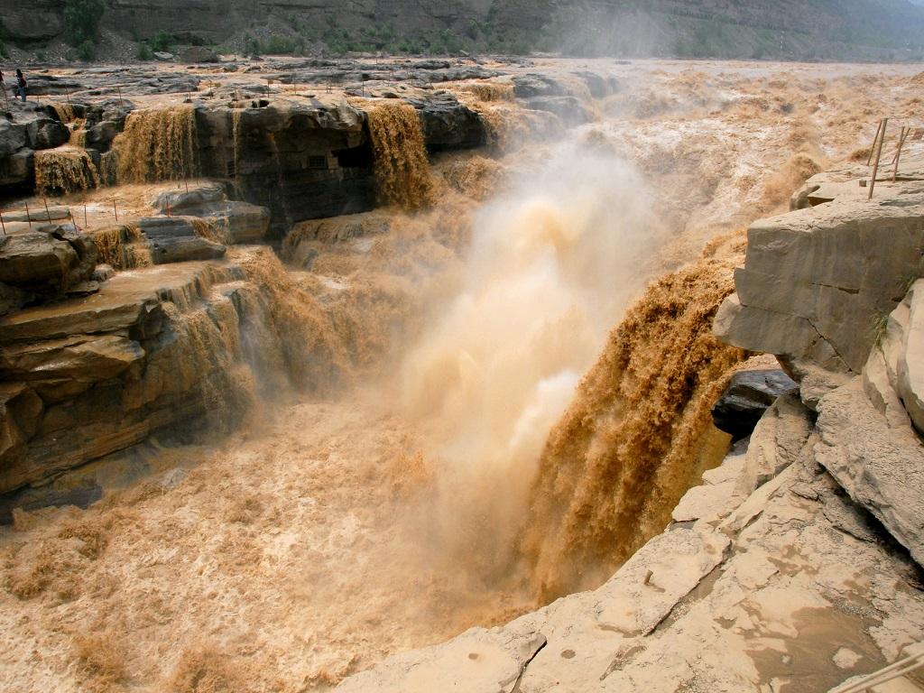 Yellow River Waterfull 黄河壶口瀑布