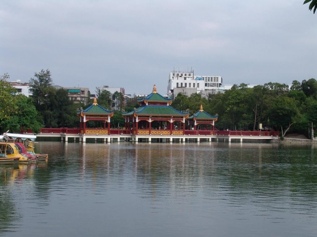 Jiuqu Bridge中山公园九曲桥