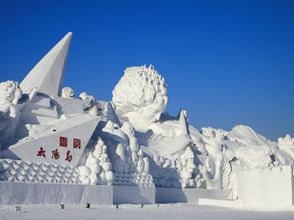 .Snow sculpture雪雕
