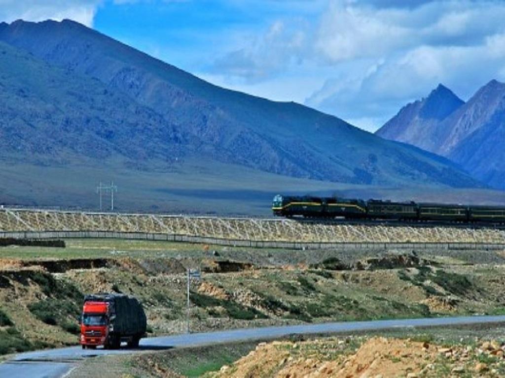 Qinghai-Tibet Railway Train青藏列车