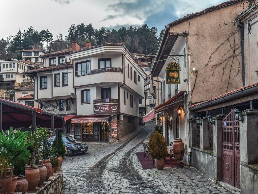 Day 07-04  Old Town, Ohrid (古城老镇,奥赫里德)