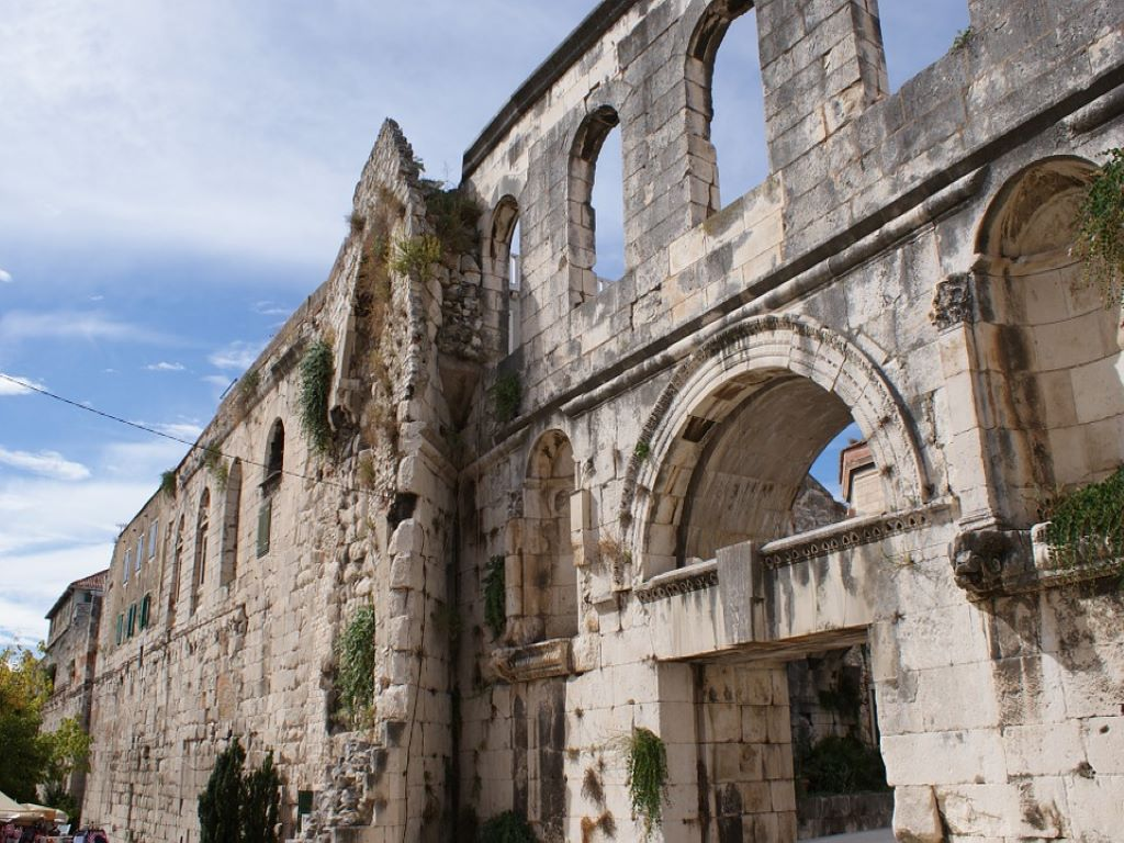Day 07-06  Diocletian Palace, Split (戴克里先宫,斯普利特)