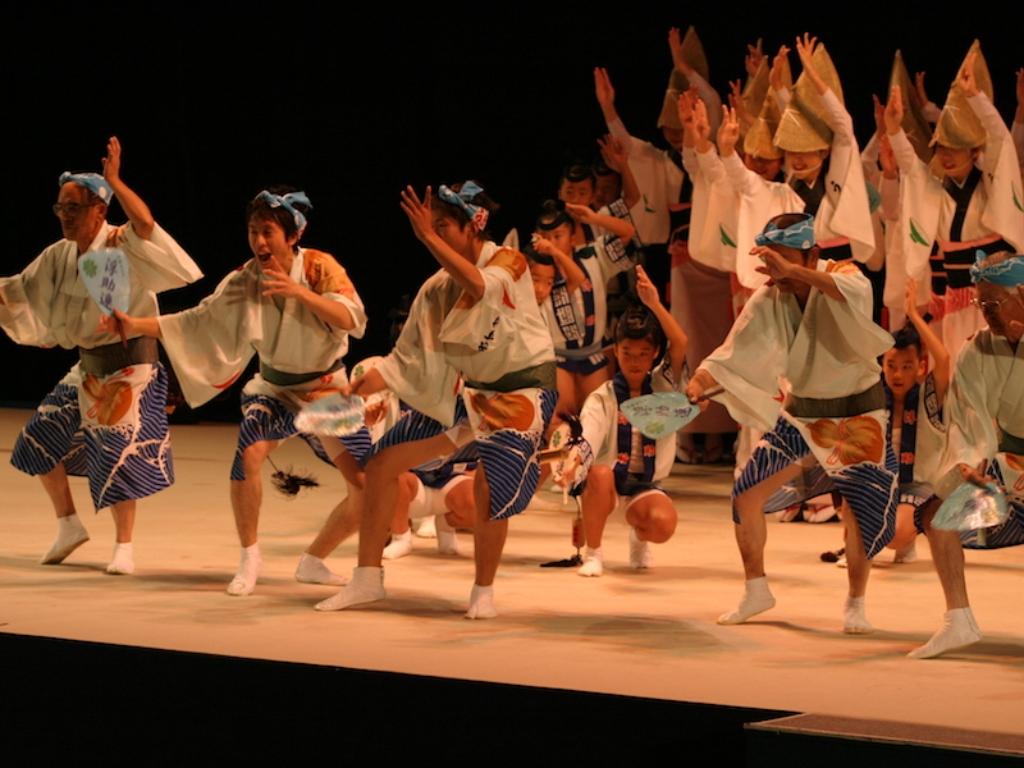 Awa Odori Dance / 阿波舞表演