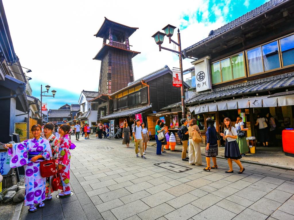 Kawagoe town / 川越小江湖