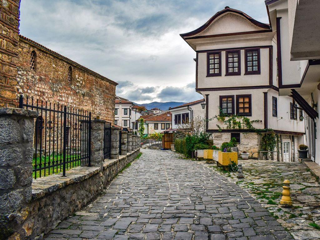 Day 07-05  Old Town, Ohrid (古城老镇,奥赫里德)
