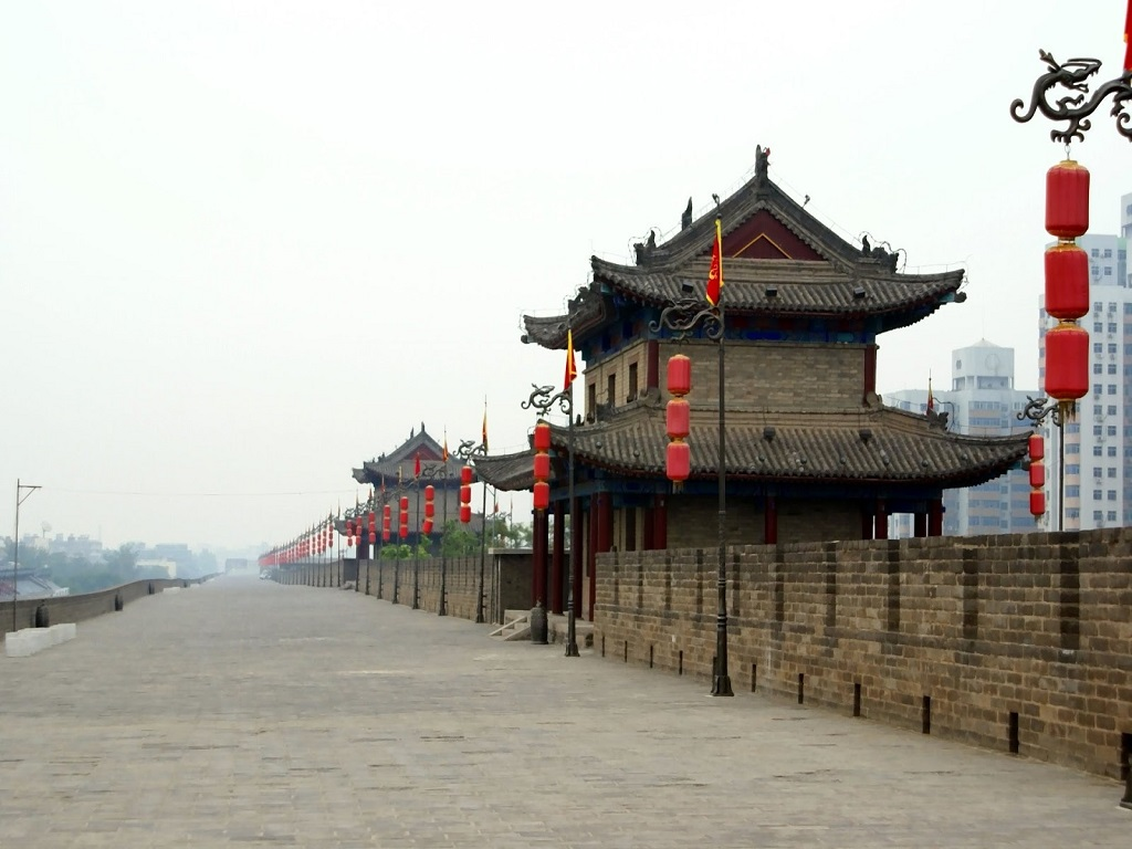 Xi'an Ancient Wall西安古城墙