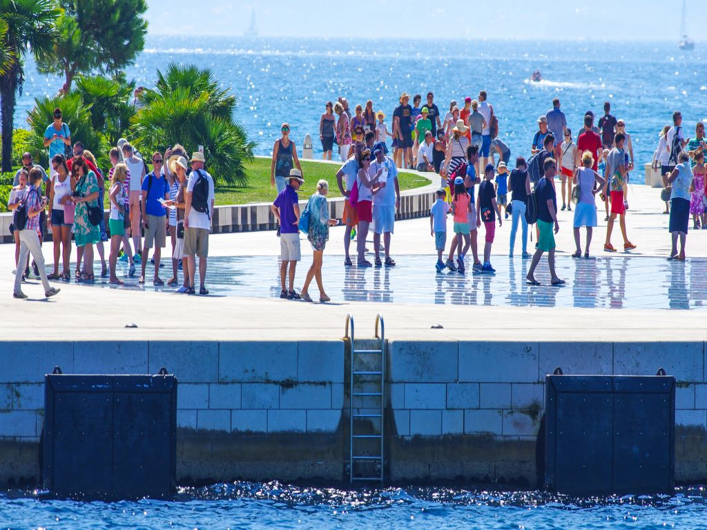 Day 07-13  Promenade at Sea Organ, Zadar (海风琴,扎达尔)