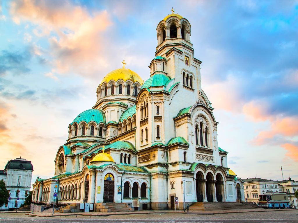 Day 05-01  Alexandra Nevski Church, Sofia(亚历山大涅夫斯基主教座堂,索菲亚)