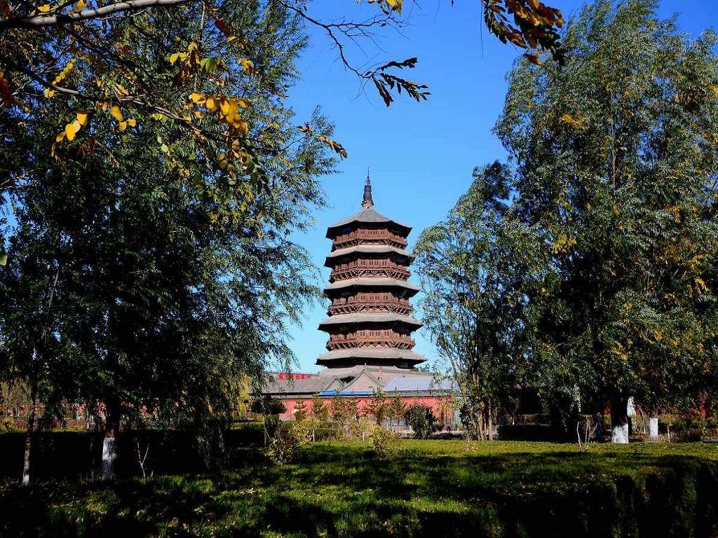 Yingxian Wooden Tower应县木塔