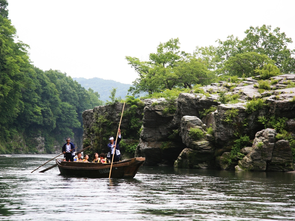 Nagatoro River Boating / 长瀞川船飘船