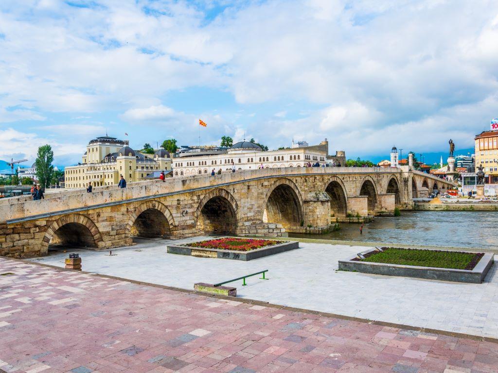 Day 06-03  Stone Bridge, Skopje (石桥,斯科普里)