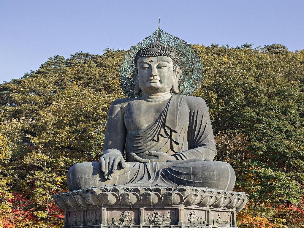 Sinheungsa Temple - Bronze Buddha (新兴寺 - 大佛)