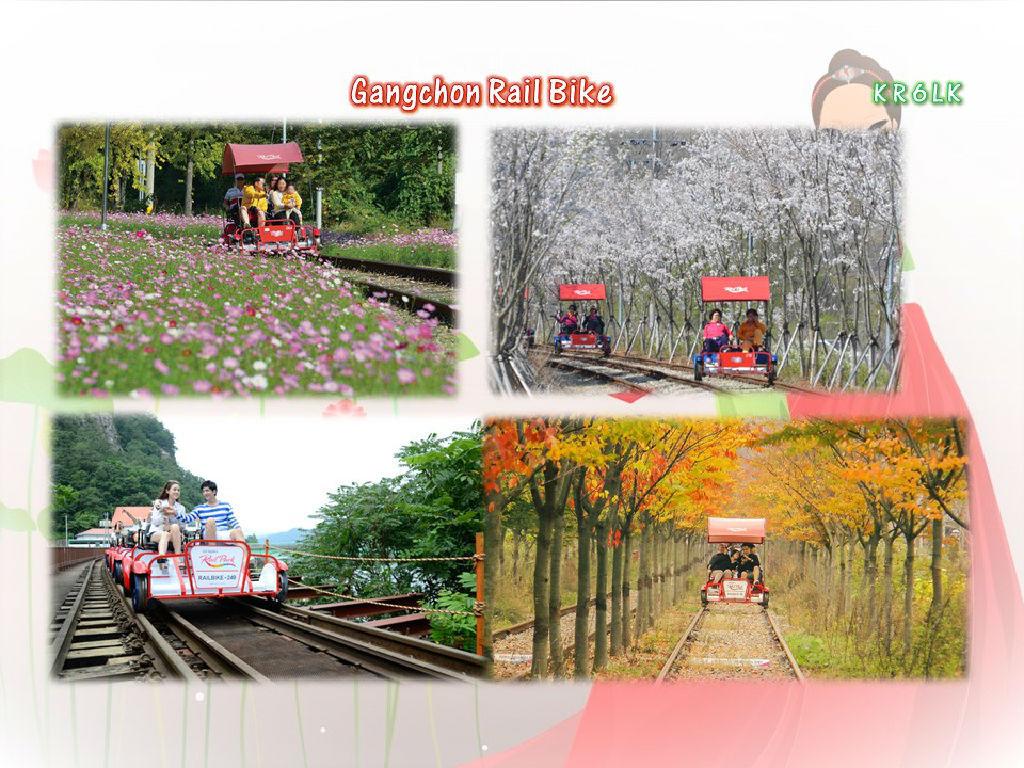 Gangchon Rail Bike (铁路协力自行车)